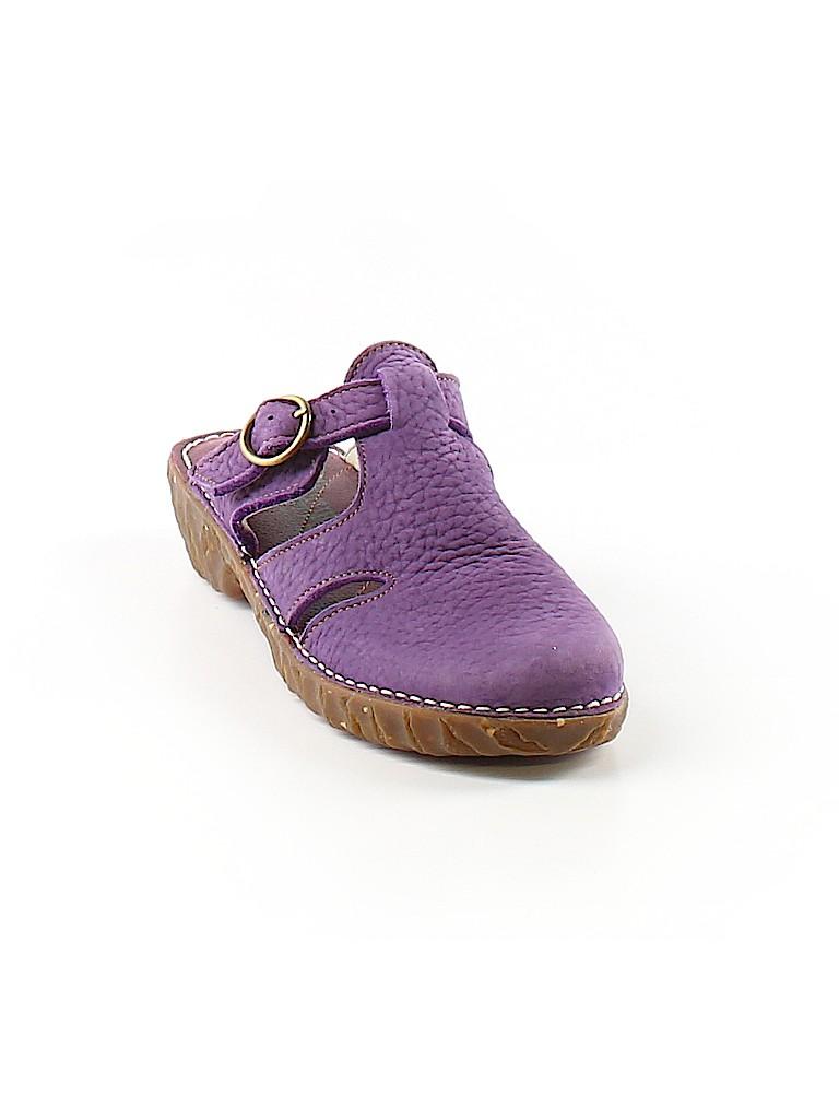 e066654172bc2 El Naturalista Solid Dark Purple Mule Clog Size 36 (EU) - 76% off ...