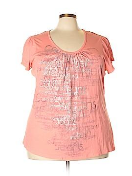 CALVIN KLEIN JEANS Short Sleeve T-Shirt Size 2X (Plus)