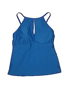 Ellen Tracy Swimsuit Top Size 14