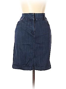 Dana Buchman Denim Skirt Size 10
