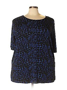 Liz Baker Short Sleeve Top Size 3X (Plus)