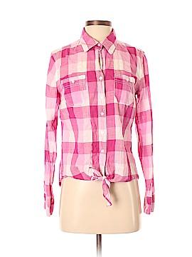 Sandra Ingrish Long Sleeve Button-Down Shirt Size S