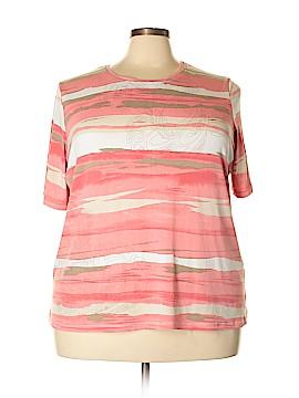 Allison Daley Short Sleeve T-Shirt Size 3X (Plus)