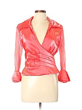 Jessica Howard Long Sleeve Blouse Size 10