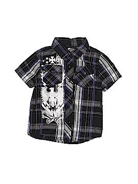 SK2 Short Sleeve Button-Down Shirt Size 5T