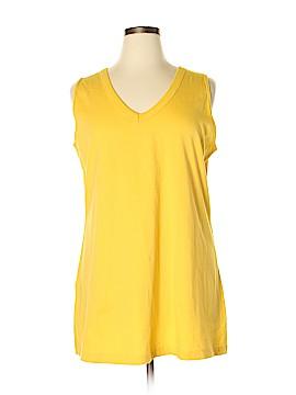 Roaman's Sleeveless T-Shirt Size 22 (1X) (Plus)