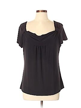 Carole Little Short Sleeve Blouse Size XL