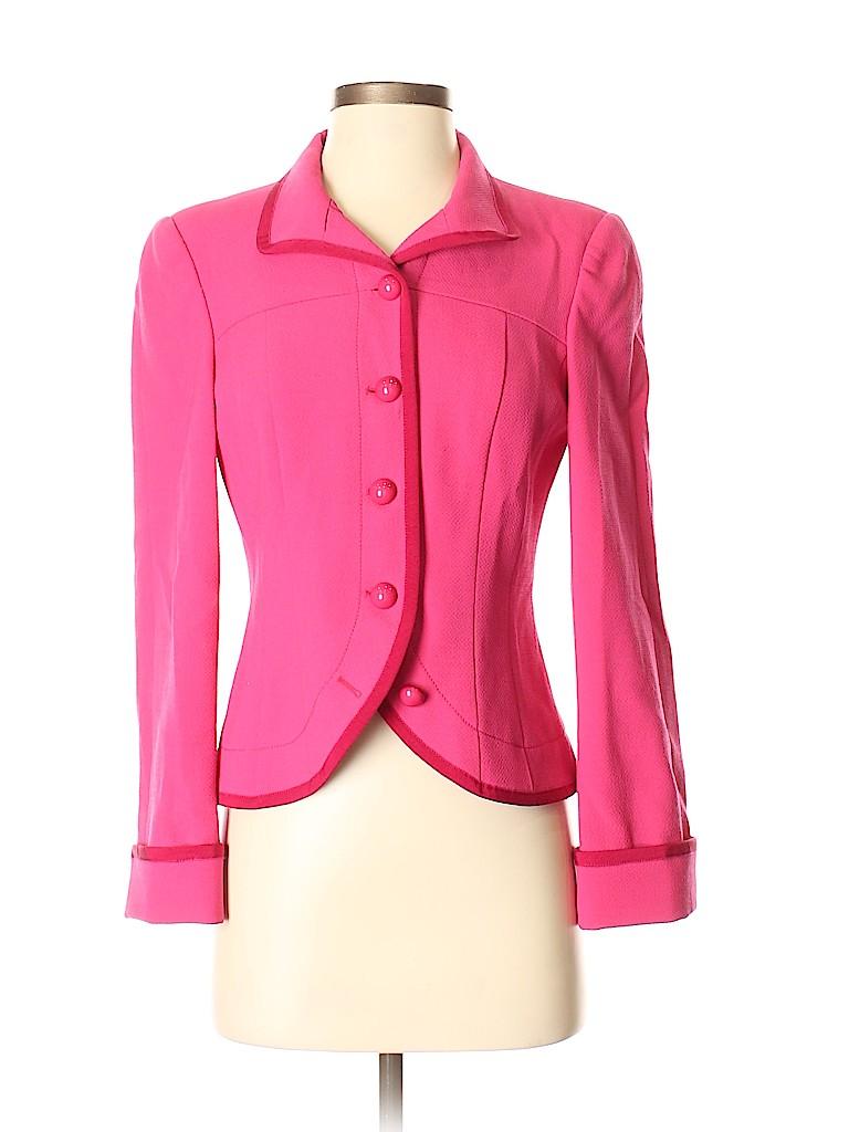 Armani Collezioni Women Wool Blazer Size 4