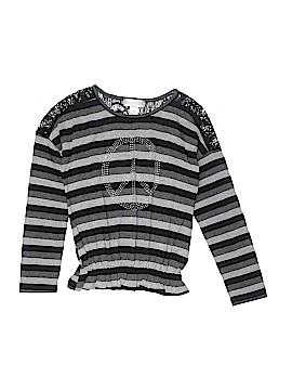 Rocker girl Long Sleeve Top Size 10 - 12