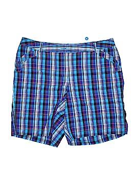 Just My Size Khaki Shorts Size 20W (Plus)