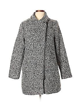 Just Fab Wool Coat Size L