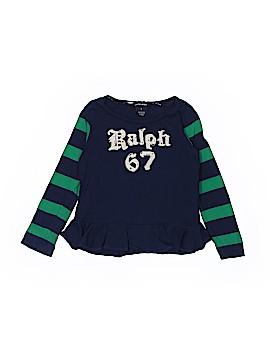 Ralph Lauren Long Sleeve T-Shirt Size 5