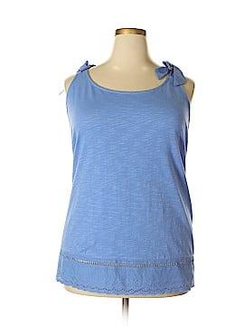 Molly & Isadora Sleeveless Top Size 5X (Plus)