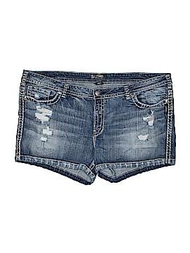 Silver Jeans Co. Denim Shorts Size 26 (Plus)