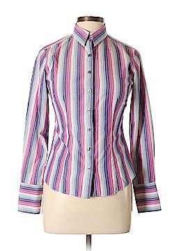 Thomas Pink Long Sleeve Button-Down Shirt Size 10