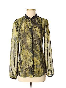 Vivienne Vivienne Tam Long Sleeve Blouse Size 2