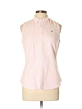 Ralph Lauren Sport Sleeveless Button-Down Shirt Size 10