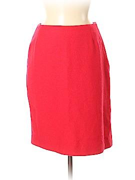 Henri Bendel Wool Skirt Size 8