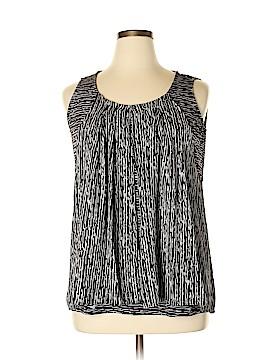 Alfani Sleeveless Blouse Size 1X (Plus)
