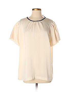 J. Crew Short Sleeve Blouse Size 16 (Tall)