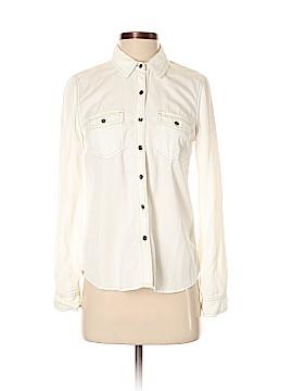 Halogen Long Sleeve Button-Down Shirt Size XS