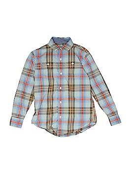 Tucker + Tate Long Sleeve Button-Down Shirt Size 7 - 8
