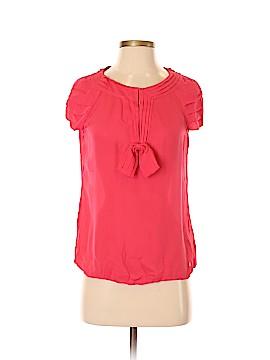 Tory Burch Short Sleeve Silk Top Size 2