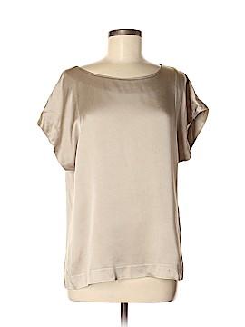 Theory Short Sleeve Blouse Size M