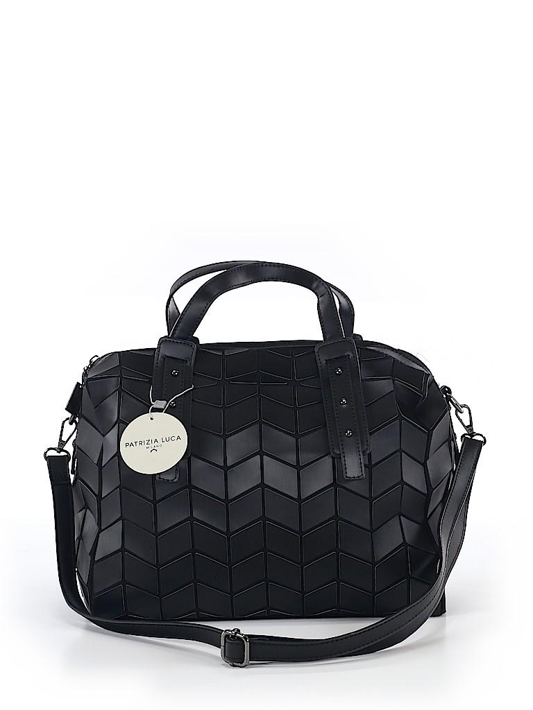 63a462533c Patrizia Luca Solid Black Satchel One Size - 35% off | thredUP
