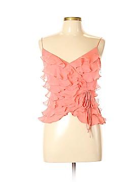 Cache Sleeveless Silk Top Size 6