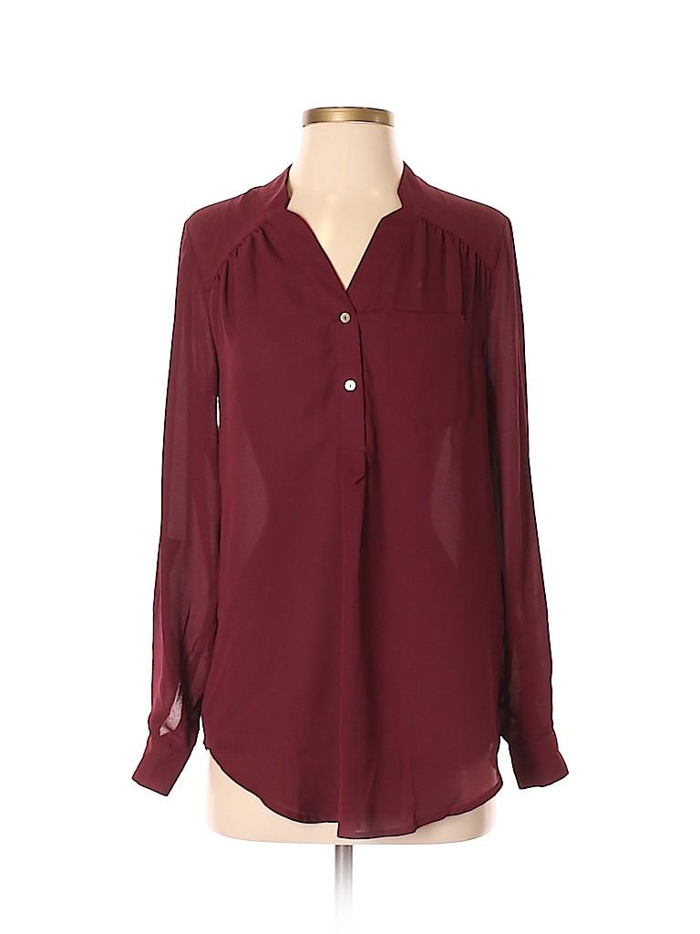 Fervour Women Long Sleeve Blouse Size XS