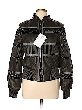 Vera Pelle Leather Jacket Size 46 (IT)