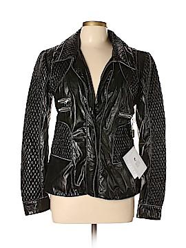 Vera Pelle Leather Jacket Size 48 (IT)