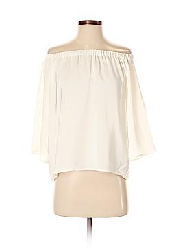 Amanda Uprichard 3/4 Sleeve Silk Top Size P