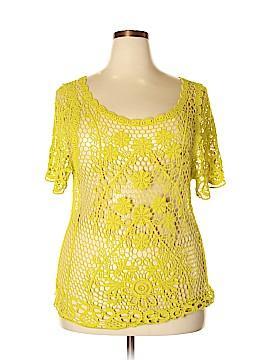 Karen Kane Short Sleeve Top Size 2X (Plus)