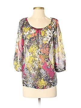 Edme & Esyllte 3/4 Sleeve Silk Top Size XS