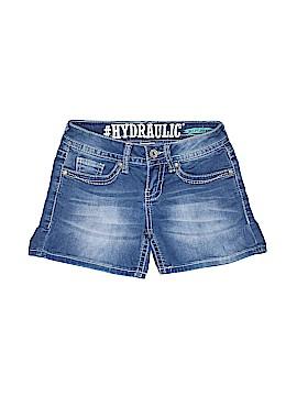 Hydraulic Denim Shorts Size 0