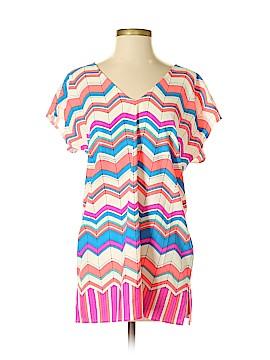 Julie Brown Short Sleeve Blouse Size S