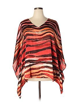 Dana Buchman Short Sleeve Blouse Size 1X (Plus)