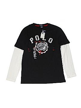Polo by Ralph Lauren Long Sleeve T-Shirt Size M (Kids)