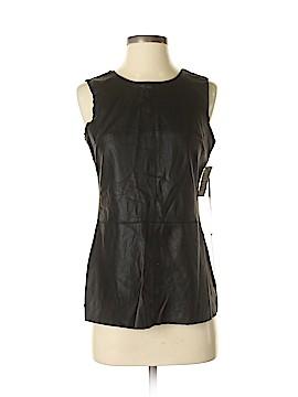 Iris Setlakwe Faux Leather Top Size 4