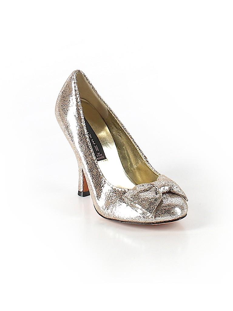 d01a7cff2cc Steven by Steve Madden Metallic Silver Heels Size 5 - 87% off