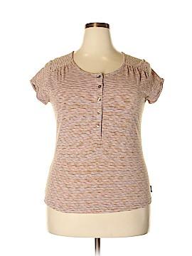 Woolrich Short Sleeve Henley Size L