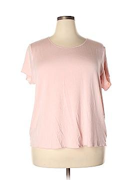 Cacique Short Sleeve Top Size 22 - 24 (Plus)