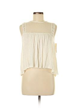 Wild Pearl Sleeveless Top Size XS