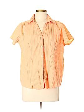 A.L.C. Short Sleeve Blouse Size XL