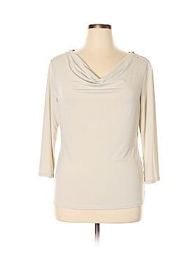 Carmen Carmen Marc Valvo 3/4 Sleeve Top Size XL