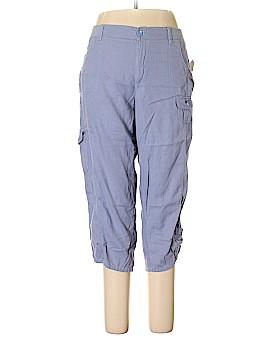 Gloria Vanderbilt Linen Pants Size 16