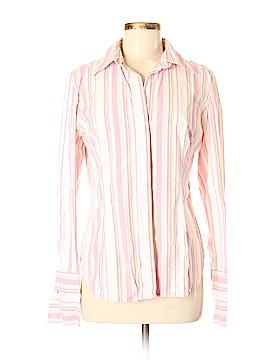 Moda International Long Sleeve Button-Down Shirt Size M