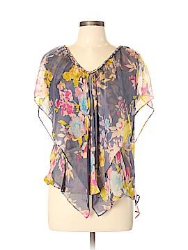 Postella Short Sleeve Silk Top Size L